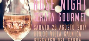 Sabato 26 Agosto: ROSE' NIGHT