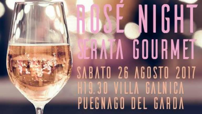 Sabato 26 Agosto: ROSE' NIGHT