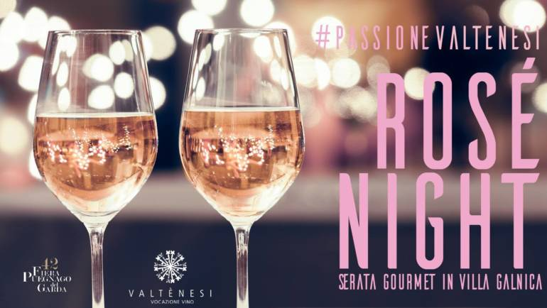 25 – 26 Agosto 2018 – Rosè Night