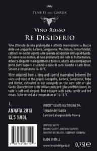 Etichetta 2017 Vino Re Desiderio