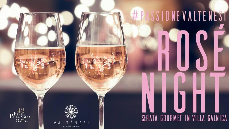 25 – 26 Agosto 2018 – Rosè Night
